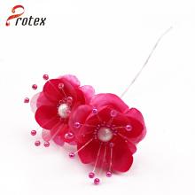 Flores artificiales al por mayor hermosas coloridas