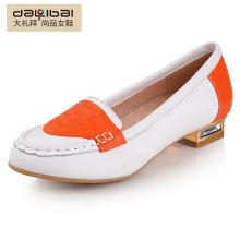 Comfort sweet new style flat lady shoes