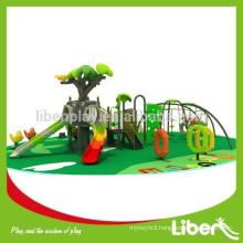 European Standards Luxury Children Preschool Outdoor Playground with Climbing Frame and Slide