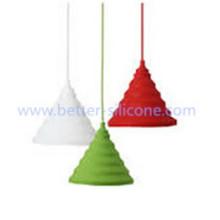 Promoção personalizada abajur de silicone colorido