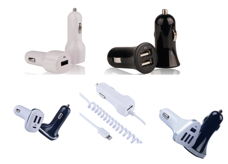 car charger with multi USB ports