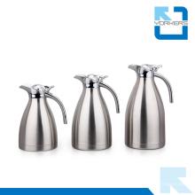 Vente en gros 304 en acier inoxydable à vide en pot et bouilloire à eau