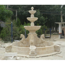 Large Outdoor European Style Horse marble fountain
