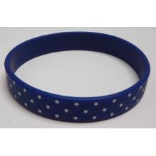 Fashion Promotional Gift OEM Silicone Jewelry Bangle Bracelet