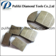 2000mm Tool Part Granite Stone Diamond Cutting Segment