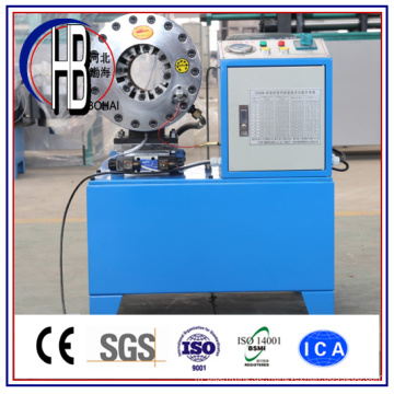 China Factory Professional Herstellung Hydraulikschlauch Sicken Maschine mit Best Preis