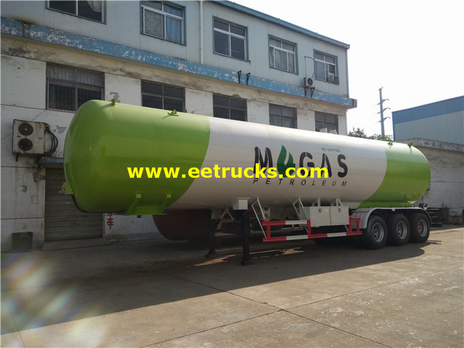 60 CBM LPG Road Trailers