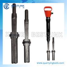 Tradtional manuelle Werkzeuge aus Stein Splitting Presslufthammer für den Abriss