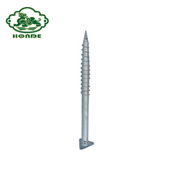 ASTM External Ground Screw Assembly Untuk Fondasi