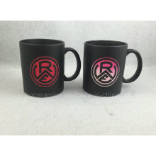 Sandblast with Color Change Coating Mug