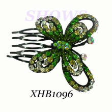 Fashion Hair Jewelry/Diamond Hair Comb/ Hair Comb (XHB1096)