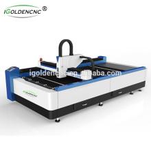 2017 hot sale 750w fiber laser cutting machine 4x8 ft