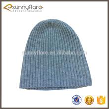 100% cashmere 2017 knit hat, chapéus de inverno