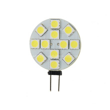12V 30V DC G4 LED ampoule 12 SMD 5050 4000k