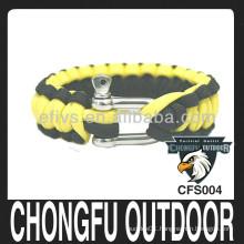 Hot sale! high quality paracord bracelet for decoration