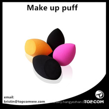 orange black pink make up beauty puffs blender sponges
