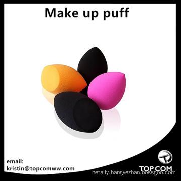 orange black pink make up beauty puffs blender sponges