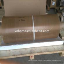 Tissu en fibre de verre composite en fibre de verre composée de teflon en vrac de haute qualité avec adhérence linéaire