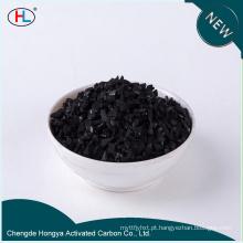 Carvão adsorvente de casca de coco ativado