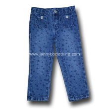 fashion children cute denim jeans