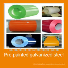 zero spangle galvanized steel for building material, made in China