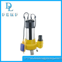 High Quality 750W Stainless Steel Sewage Submersible Water Pump
