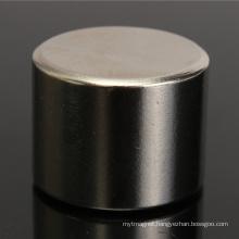China Big Cylinder NdFeB Neodymium Magnet