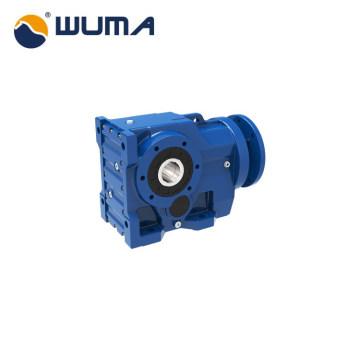 Caixa de engrenagens helicoidal modular série WUMA MK