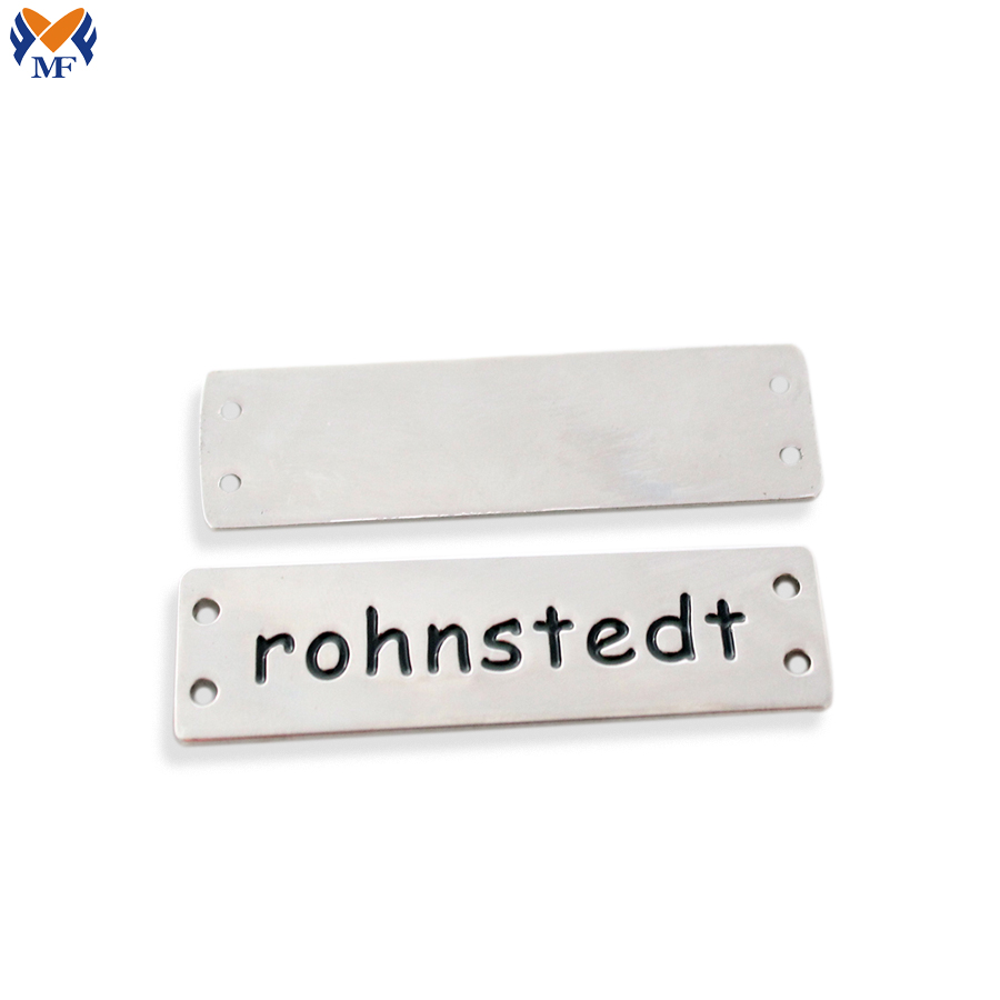 Custom Engraved Logo Metal Plate