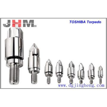 Toshiba Injecção Parafuso Torpedo Cabeça