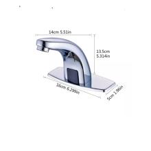 Torneira com sensor automático de zinco