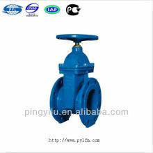 Ductile rion soft sealing gate valve non-rising stem Z45X-16
