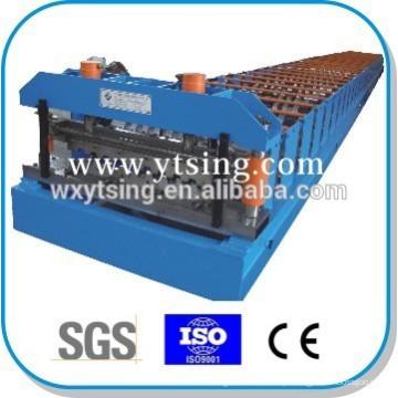 Passado CE e ISO YTSING-YD-6638 Controle Automático De Metal Deck Rolo Dá Forma À Máquina