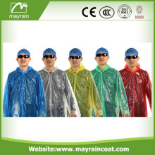 Imperméable jetable PE adulte
