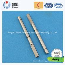 Eje de conducción de la precisión del acero de carbono del proveedor de China