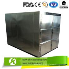 Mais vendido! Refrigerador Mortuário de aço inoxidável (6 cadáveres)