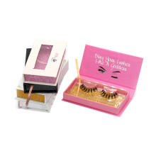 818T Hitomi Wholesale Packaging Eyelash Box Private Label Mink Lashes Cruelty Free paper packaging 3d real mink eyelash