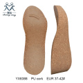 PU Cork Sole Women Ladies Wedges Sole