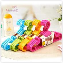 PP пластик высокое качество вешалка для одежды набор из 6 (28*14,5 см)