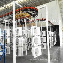 Termine a máquina de revestimento segura do pó da qualidade para o alumínio e o aço
