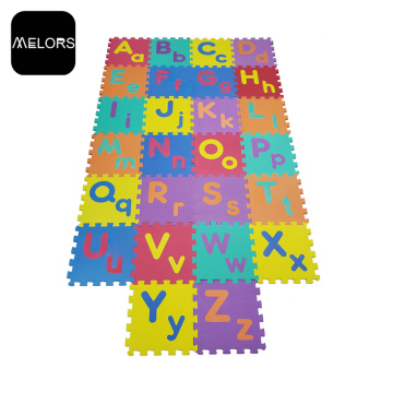 Ungiftige Alphabete Educational Foam Babyspielmatte