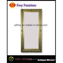 Marco de madera grande antiguo del tamaño para el espejo / cuadro