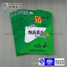 Размер Подгонянный пластичный мешок с ziplock для еды Заедк