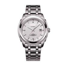 Stainless Steel Mens Wristwatch Movimento mecânico automático completo