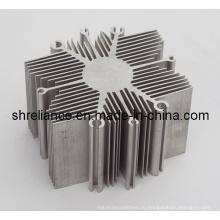Алюминиевый сплав, экструдированный промышленными радиаторами