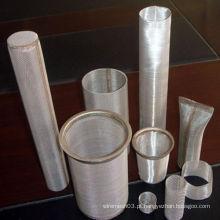 Cartucho do filtro do engranzamento do aço inoxidável 304 (XS-105)
