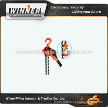 factory direct sale hand operated chain lever block