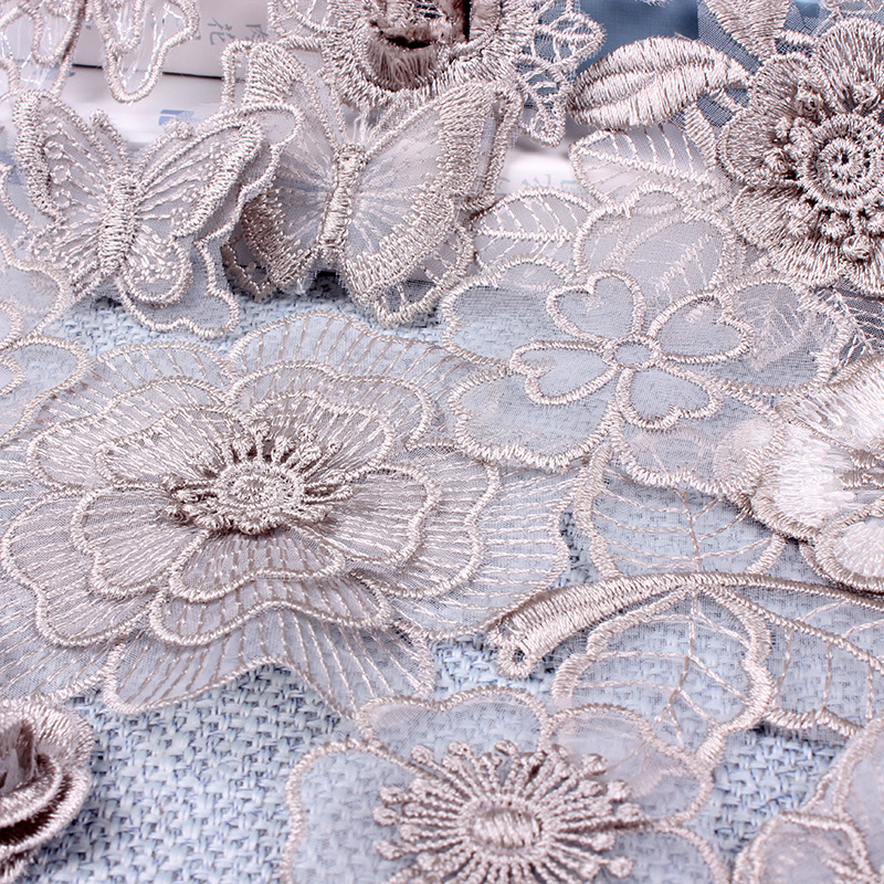 Flower Lace Embroidery Patches