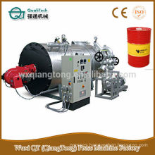 Verticlel assembled wood waste/ powder fired boiler