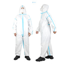 Medical Strip Protective Clothing White